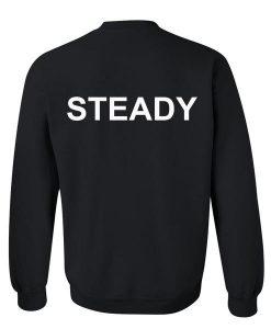 steady sweatshirt back