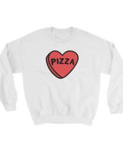 I Love Pizza Sweatshirt