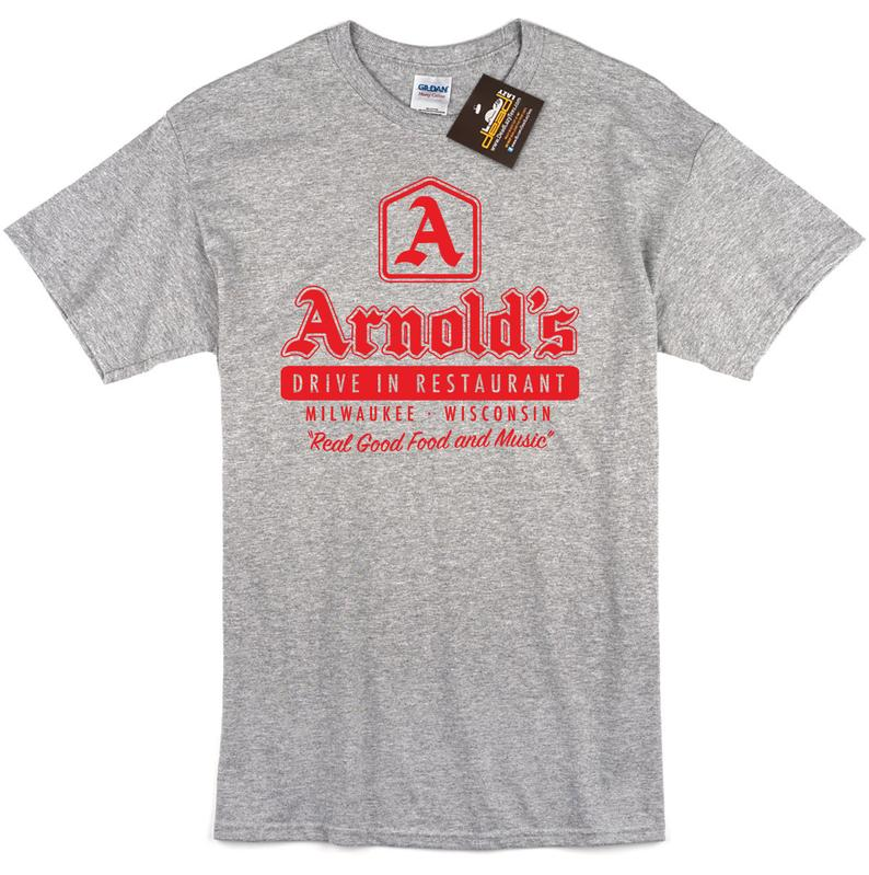 Arnold's Drive In Short Sleeve T Shirt - Inspired by Happy Days - Mens &  Ladies Styles
