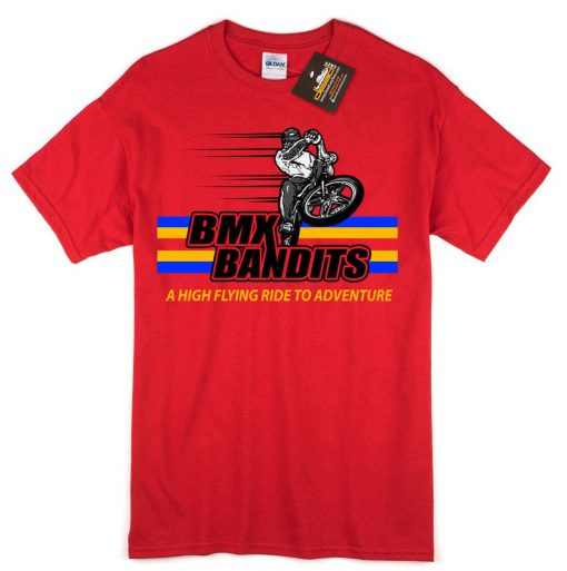 BMX Bandits Short Sleeve T Shirt – Inspired by the 80's Film – Mens & Ladies Styles