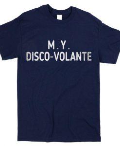 M.Y. Disco Volante James Bond Thunderball Inspired T-shirt - Mens & Ladies Styles - Yacht Boat tshirts