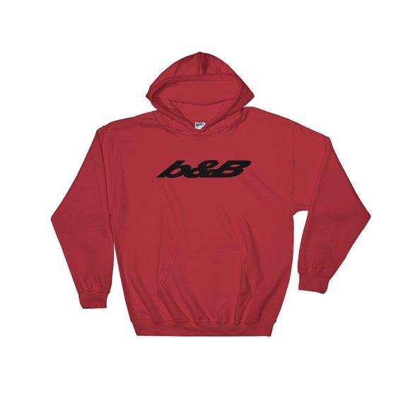 Post malone bb black logo hoodie