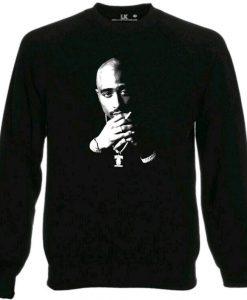 2Pac Tupac Sweatshirt Funny Slogan Jumper Hip Hop