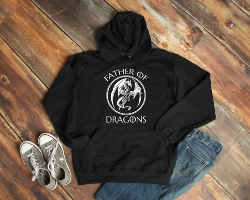 Father Of Dragons Hoodie