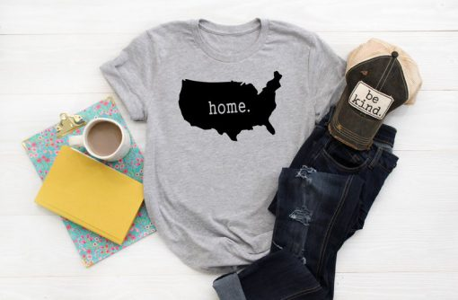 USA, Home Sweet Home T Shirt