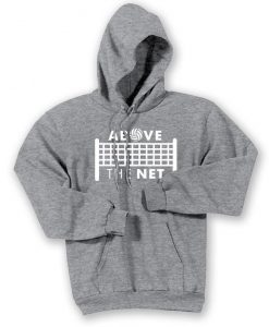 Above the Net Volleyball Hoodie