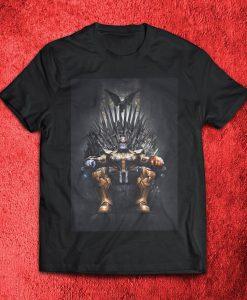 Game of Thanos Avenge The Fallen Endgame Avengers Unisex Black T Shirt