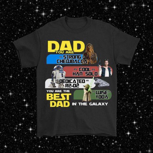 Star Wars Fathers Day Daddy Sci Fi Jedi Gift Idea Yoda Darth Vader T Shirt