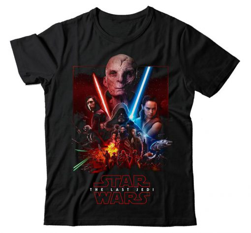 Star Wars The Last Jedi Skywalker Kylo Ren Jedi T Shirt