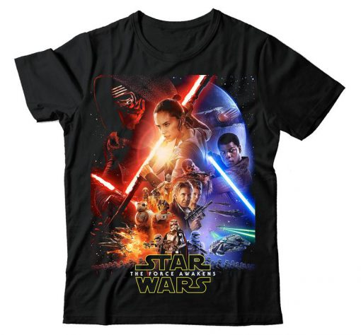 Star Wars The The Force Awakens T Shirt