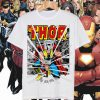 The Mighty Thor Hammer Smash Avengers Comic Stan Lee T Shirt