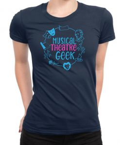MUSICAL THEATRE TSHIRT, Gift for Drama Theatre Student
