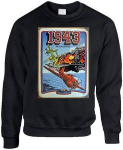 1943 Gamer Arcade Planes Fighter Sweatshirt