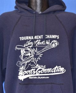 80s Gary Newton's Softball Tournament Champs Ventura Coast Hoodie