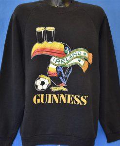 80s Guiness Toucan Ireland Sweatshirt