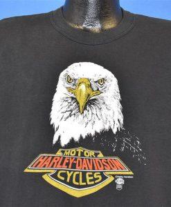 80s Harley Davidson Motorcycle Andrae Urbana Illinois Muscle Tank top