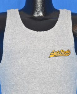 80s Late Night with David Letterman Tank Top t-shirt