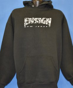 90s Ensign New Jersey Hardcore Punk Hoodie