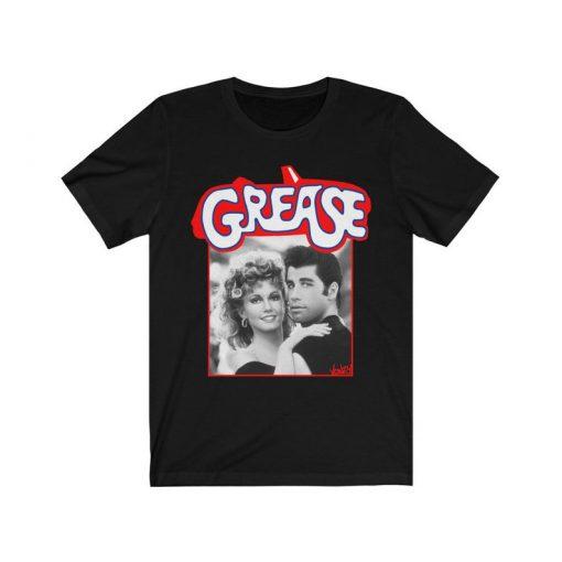 Grease retro movie tshirt