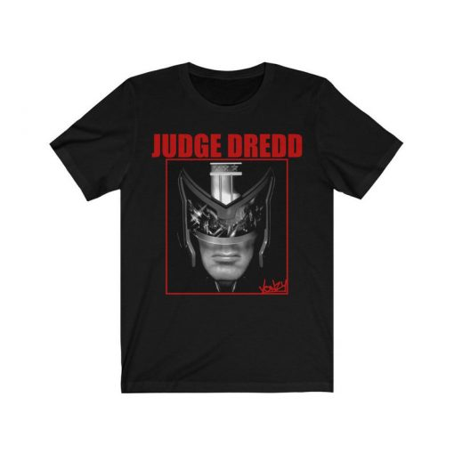 Judge Dredd retro movie tshirt