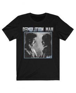 Demolition Man retro movie tshirt