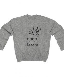 I dissent notorious rbg sweatshirt, Feminist sweatshirt, RBG Quote shirt, Liberal sweatshirt, RBG sweater